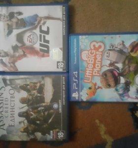 Диски PS 4. Продажа, обмен