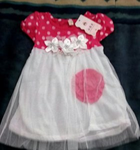 Платье для девочки размер 9