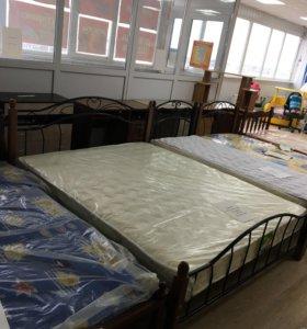 Кровать односпальная , Матрас