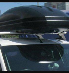Багажник на крышу седан Ford Focus 3