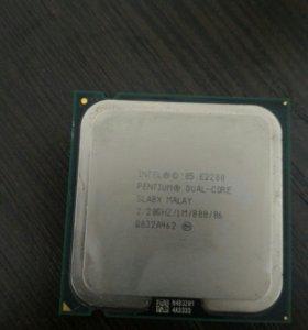 Процессор на 775 LGA, 2а ядра по 2.2гц