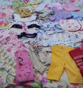 Одежда на девочку до 2 лет