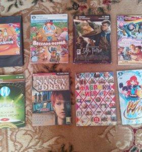 диски с играми