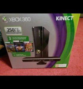 XBOX 360 + KINECT и 3 игры