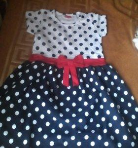 Платье для девочки на рост 110,122