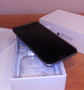 iPhone 6 16GB чёрный ,новый.