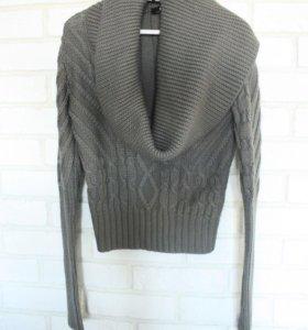 Серый вязаный свитер Morgan