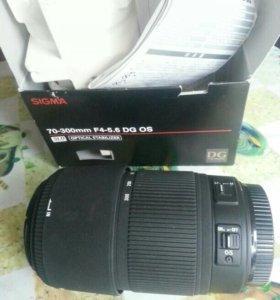 Sigma DG 70-300 mm F/4.0-5.6 OS AF DG