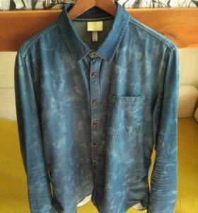Джинсовая рубашка Adidas