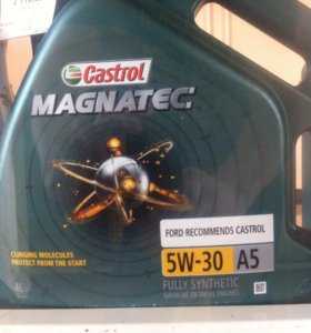 Масло Castrol magnatec 5w30 ford 4л