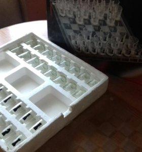 Шахматы стекло сувенир
