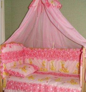 Набор в кроватку для девочек