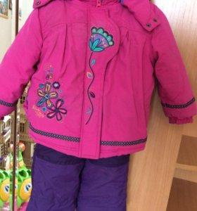Костюм зимний для девочки Peluche
