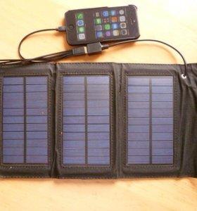 Зарядное устройство на солнечных панелях