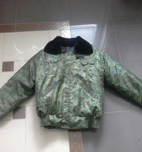 Зимняя армейсая куртка