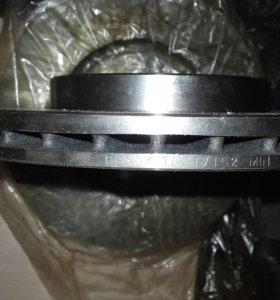 Тормозные диски вентилируемые цена за 2 шт новые