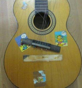 Ремонт и настройка гитар аккустика, классика