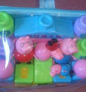 Свинка Пеппа в рюкзаке