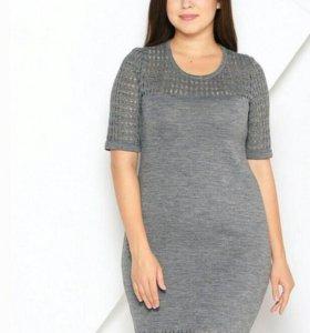 Платье 50 размера шерсть ,новое