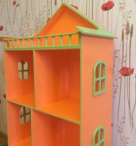 Домик для книг, домик для кукол, полка, стеллаж