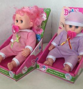 Кукла пупс плачущая