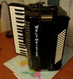 Аккордеон weltmeister achat 80