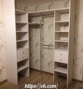 Шкафы купе, гардеробные