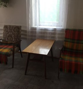 Стол + 2 кресла