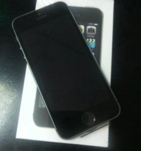 iPhone 5s, space gray, 16gb