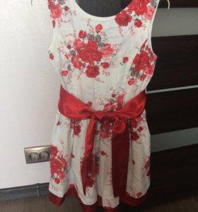 Платье на лето рост 128-140