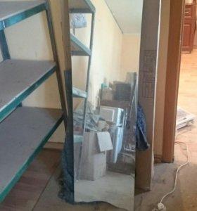 Зеркало с небольшим дефектом.