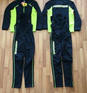 Новый лыжный разминочный костюм Fischer