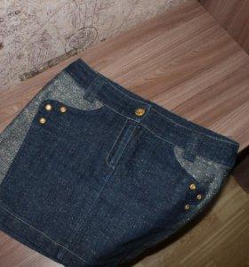 Джинсовые юбка