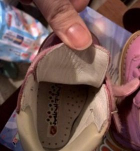 Ортопедические ботиночки Minitin