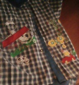 Костюм лето рубашка и шорты
