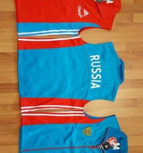 Лыжная (биатлонная) жилетка Adidas, Fischer