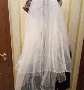 Свадебные аксессуары (Фата)