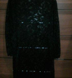 Платье ожурное