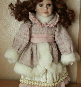 Обмен Кукла фарфоровая