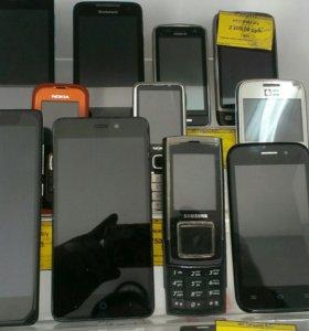 Б.У. телефоны