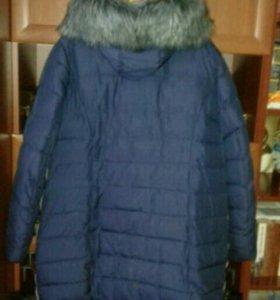 Зимнее полупальто-куртка