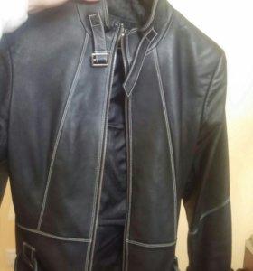 Коженая куртка