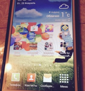 "Смартфон Samsung galaxy mega 5""8 duos"