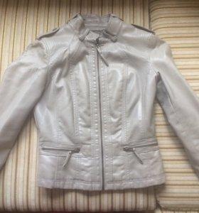 Куртка кожзам Зара