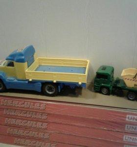 Машина бортовая и мусоровоз