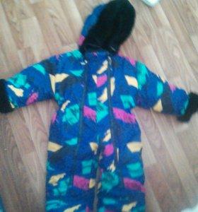 Комбенизон, куртки от 1 до 2 лет