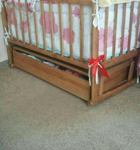 Продам кровать-маятник