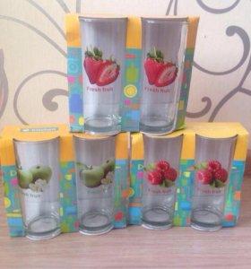 Новый набор стаканов