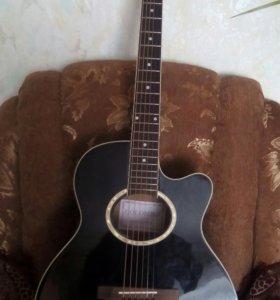 гитара colombo lf-401c bk