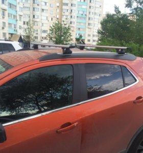 Багажник для Opel Mokka с рейлингами